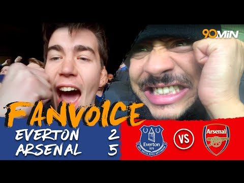 Everton 2-5 Arsenal | Arsenal come from behind to destroy Everton 2-5! | FanVoice