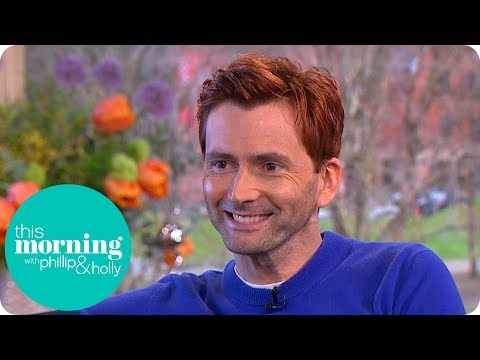 Why Has David Tennant Got Red Hair?  This Morning