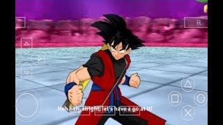 Dragon Ball Z Tenkaichi Tag Team - Xeno Goku & Black Goku Rose