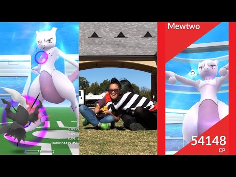 The Most Epic Mother And Son Mewtwo Duo EVER