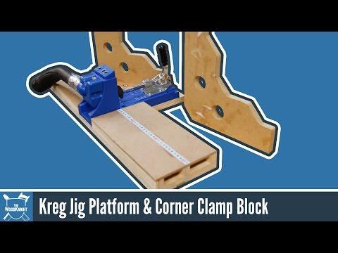 Kreg Jig Base + Corner Clamping Blocks