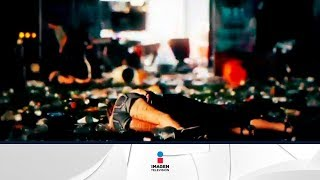 Fuertes imágenes del tiroteo en Las Vegas | Noticias con Yu...