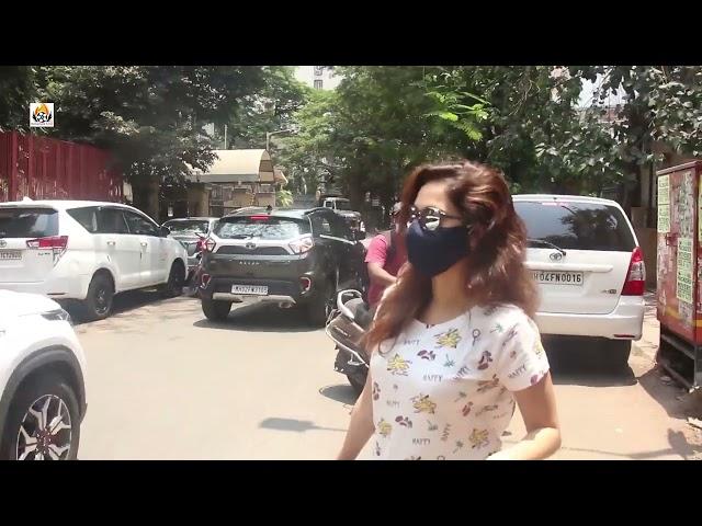Nushrat Bharucha And Neha Sharma Snapped At Bandra