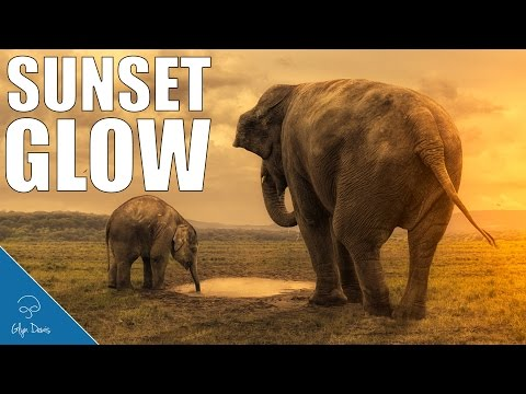 how to create sunset effect in photoshop