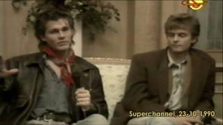 Baixar a-ha -  interviewed on Superchannel - 23-10-1990