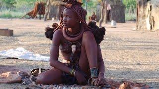 Женские обязанности в племени химба