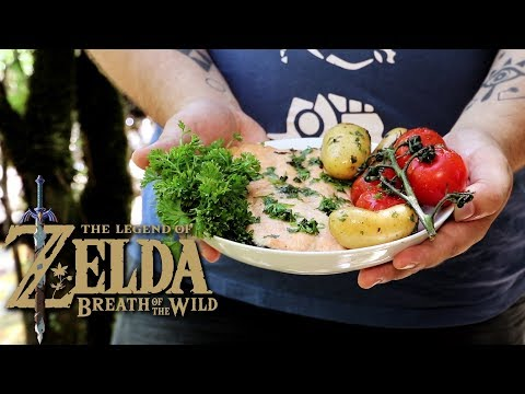 I COOK THE SALMON MEUNIERE FROM ZELDA BOTW - S03E01 - GASTRONOGEEK