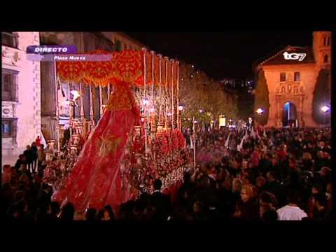 Dolores en Plaza Nueva de Regreso. Lunes Santo 2012