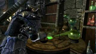 **SPOILER** Skyrim- alchemy level up help