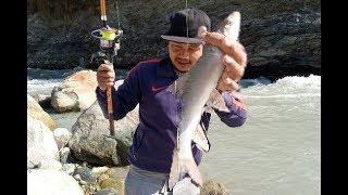 Best Fishing Video | Typical  Fishing Rod Tricks - Fishing in Nepal