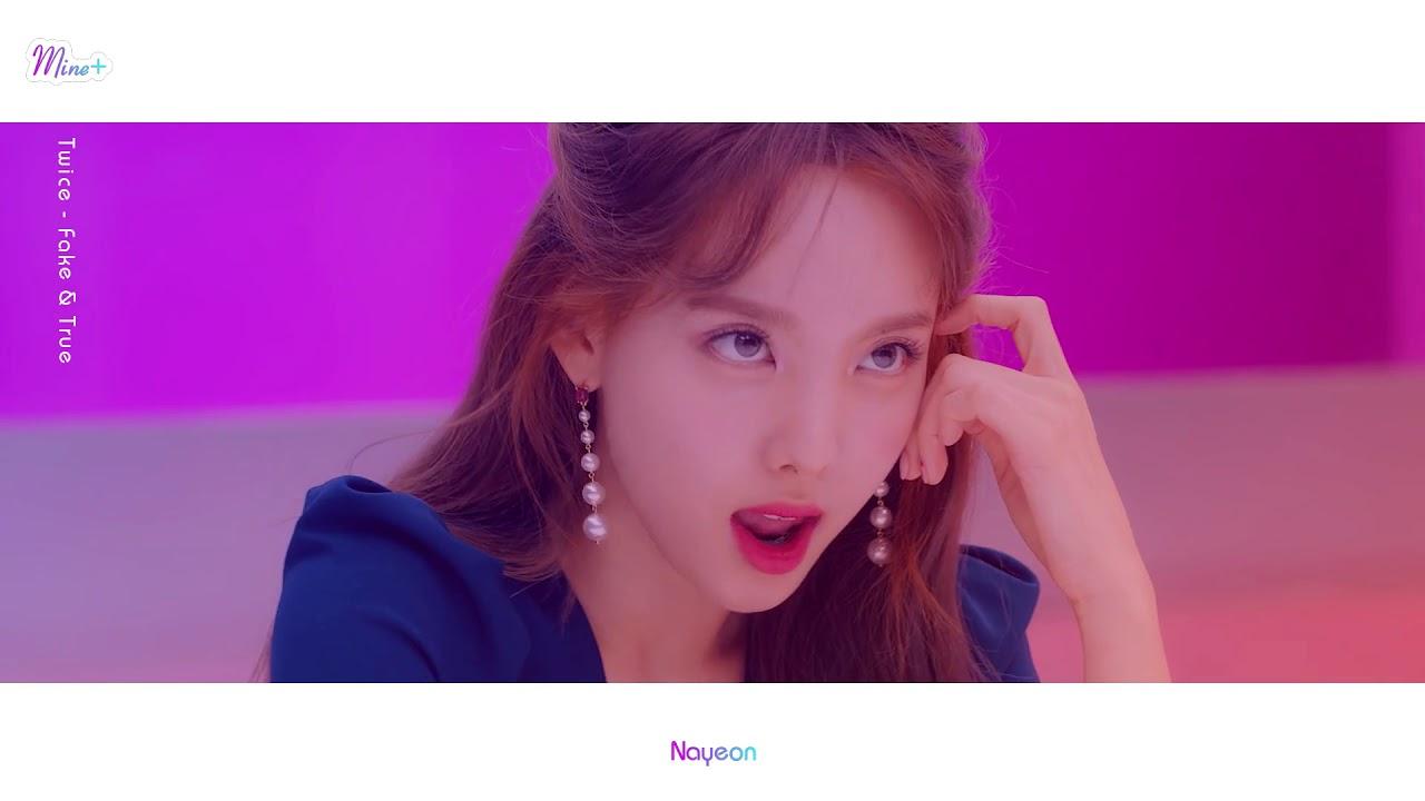 Twice Nayeon Fake True Mv Solo Focus Screentime