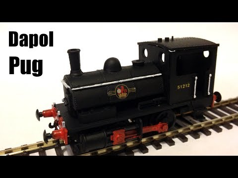 Dapol OO Gauge BR Pug (0-4-0) Quick Build