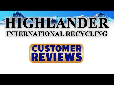 Highlander International   REVIEWS   East Kilbride Glasgow Waste Paper Recycling Award Winners