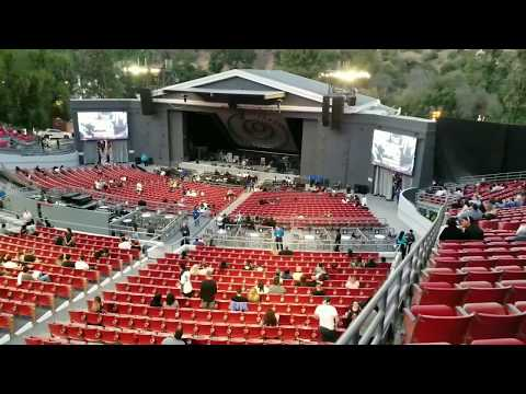 The Greek Theatre Los Angeles Seats View - South Terrace