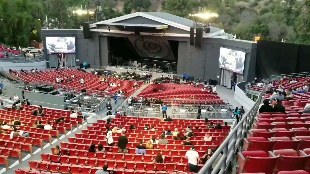 The Greek Theatre Los Angeles Seats
