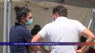 Yvelines | Une vacci-drive éphémère à Rambouillet