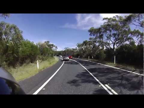 Royal National Park Cruising on Honda CB400SF, Sydney Australia 澳洲國家公園本田重機CB400SF飆車