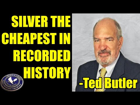 silver-the-cheapest-in-recorded-history-|-ted-butler