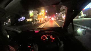 プジョー307を運転! ドライバー視点 HDR-AS30V