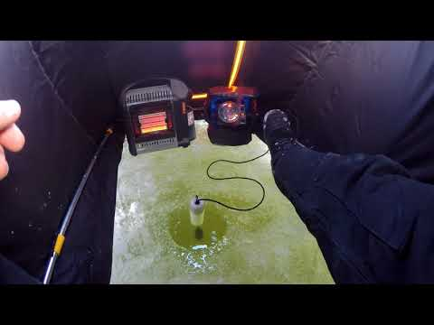 First Wisconsin Ice Fishing Trip (2017-2018)