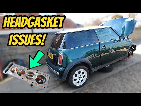 Mini Cooper Head Gasket Replacement!