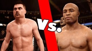 Jeff Gerstmann Vs. Anderson Silva - The Lobby