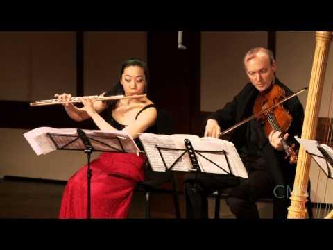 Debussy: Sonata for Flute, Viola, and Harp, III. Finale