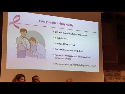 Ομιλία για τον καρκίνο του μαστού (3)