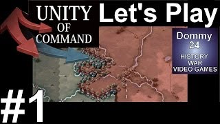 Army Group North Battle 1 | Unity of Command Black Turn Gameplay PC 1080p HD