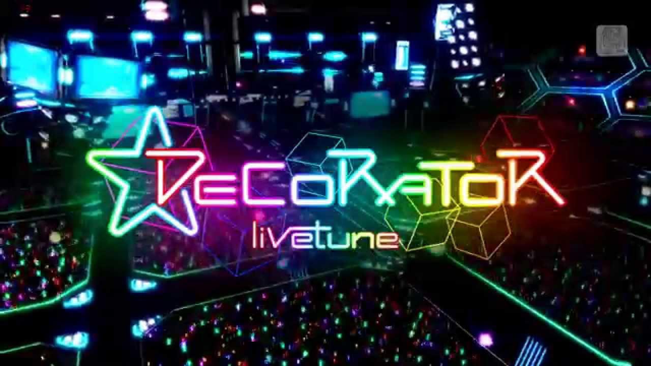 hatsune miku project diva f 2nd decorator youtube - Photo Decorator