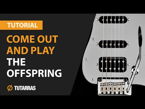 COME OUT AND PLAY - THE OFFSPRING How to play - Electric GUITAR LESSON