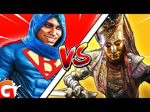 BAYEK-MAN SAVES THE WORLD | AC Origins Funny Moments (Curse of The Pharaohs DLC)