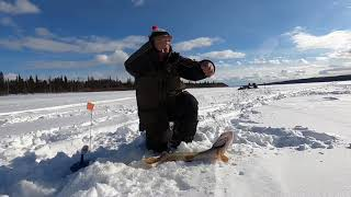 На реке Северная Сосьва Март 2021