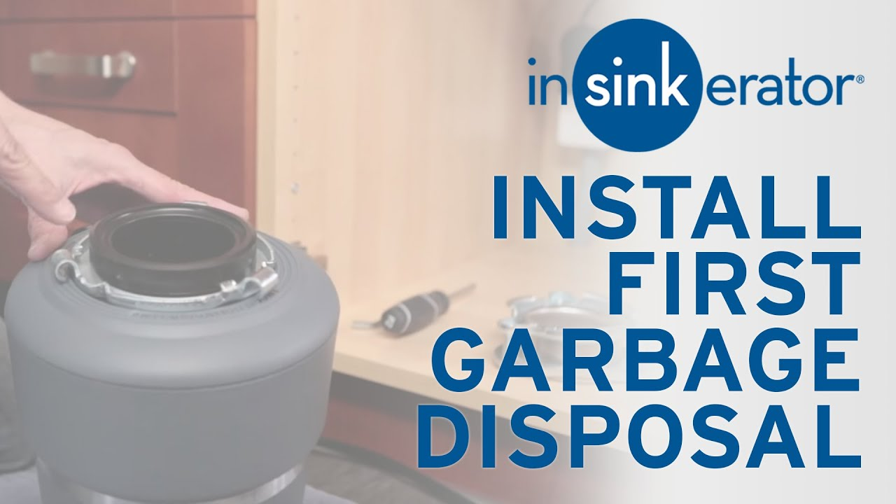 Installing a New Disposal