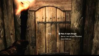 Simply Knock Demo (Skyrim Mod)