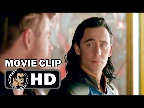 THOR: RAGNAROK Movie   Loki Brotherly Moment 2017 Chris Hemsworth Tom Hiddleston Marvel HD