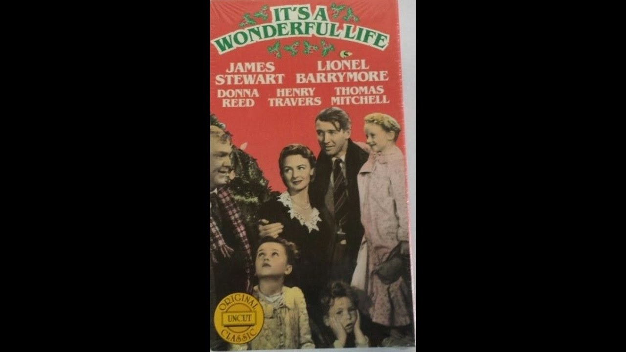 Opening Closing To It 39 S A Wonderful Life 1987 Vhs Youtube