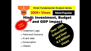 India's GDP: Micros (Individual Actions) and Macros (Overall Impact) (Data Link in Description)