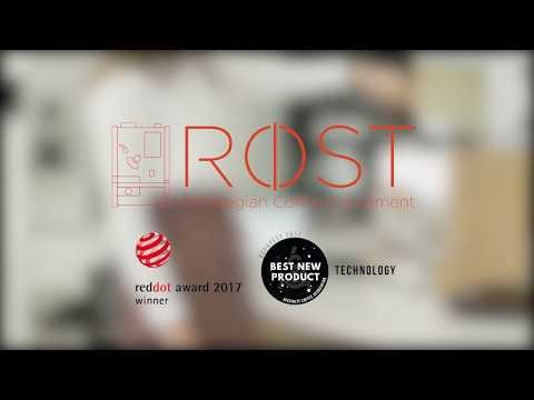 The award winning sample roaster from Røst Coffee AS