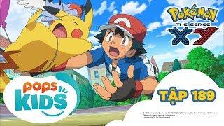 Pokémon Tập 189 - Trận Chiến Nhà Thi Đấu Hakudan! - Hoạt Hình Tiếng Việt Pokémon S17 XY