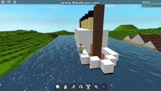 ROBLOX MINI naufrágio Titanic como Britannic/Poseidon (velho e desatualizado)