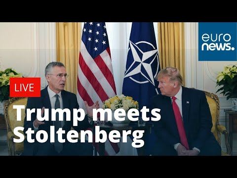 Usa News Live >> President Donald Trump Holds Bilateral Meeting With Nato S