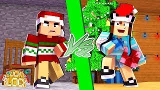 QUEM GOSTA MAIS DO NATAL?! - Minecraft Desafio de Lucky Block
