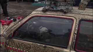 Авто на дровах разъезжало по улицам в Алматы