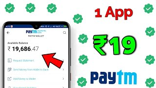💥2020 Best Earning App !! Earn Daily Free Paytm Cash Without Investment ! 2020 New Self Earning App