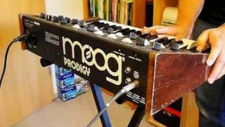 Moog Prodigy Analog Synthesizer (1979)