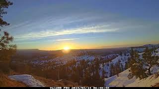 Bryce National Park Sunset and Sunrise