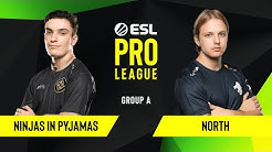 CS:GO - North vs. Ninjas in Pyjamas [Overpass] Map 1 - Group A - ESL EU Pro League Season 10