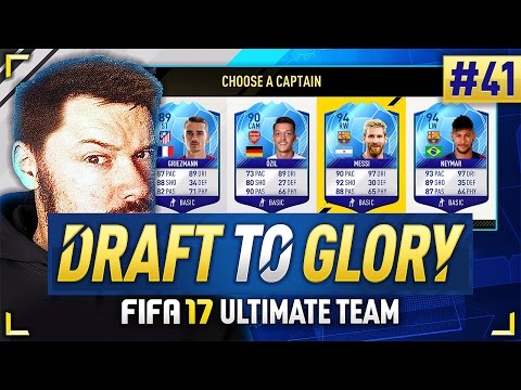 BEST EVER 188 DRAFT! - #FIFA17 DRAFT TO GLORY #41