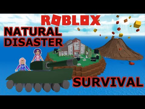 Roblox: Natural Disaster Survival / Earthquakes, Volcanoes, Tsunami, Lightning